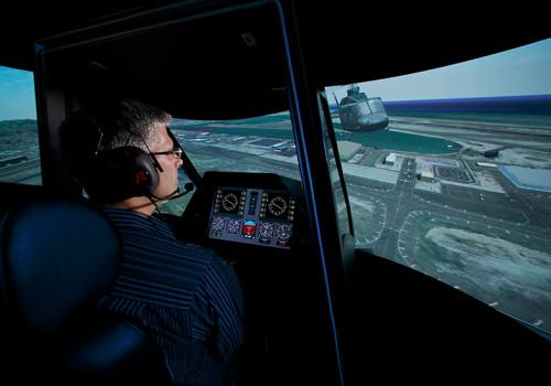 Generischer Helikopter Flugtrainer Von ESG