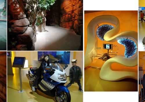 EXPO2005 - Aichi, Japan - German Pavilion - Experience Ride And Experience Lab