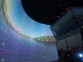 Kongsberg Bridge Simulator - Frontal View