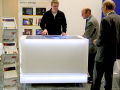 """55"""" Multitouch-table With Illuminated Corian - Museum For Communication"""