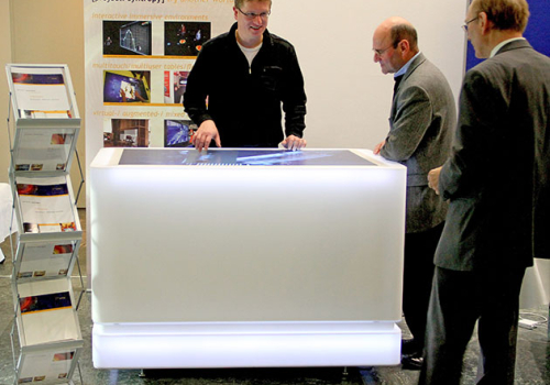 Multitouch-table, Mus. Of Communication, FFM