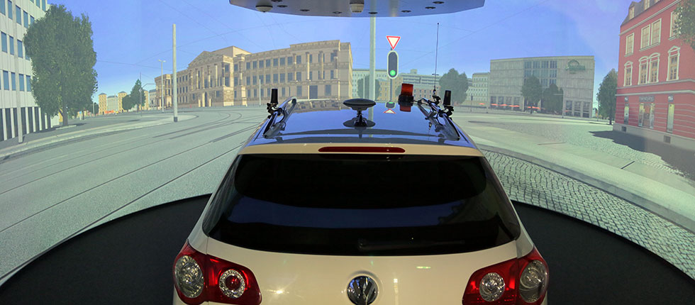 DLR Institute for Transportation Systems, Braunschweig - Virtual Reality Lab for driver assistance systems
