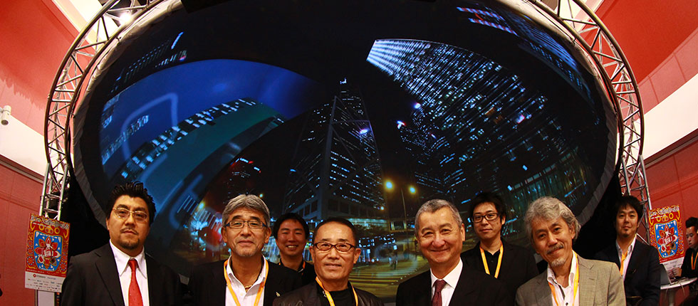 Next-generation Immersives Fulldome Entertainment - ein Showcase für den Salon Films Messestand @FILMART Hong Kong 2013