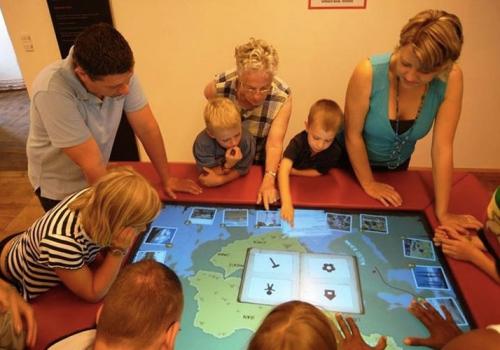 REGIONEUM Grottenhof - Multitouch Gaming Table For Kids