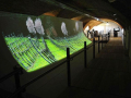 REGIONEUM Grottenhof - 11m Projection Wall With Dynamic Presentation Of The Region's Highlights