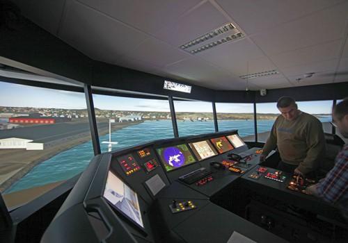 Navigationssimulator Sjöfartsverket Schweden