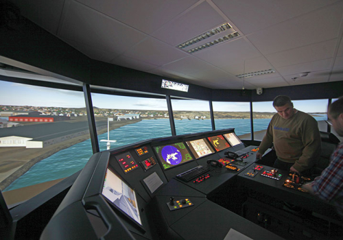 Transas Navigation Simulator Sweden