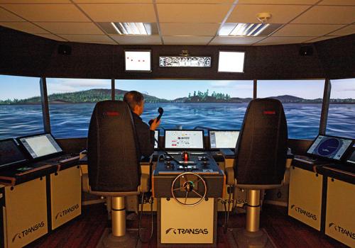 Transas Ships Bridge Simulator