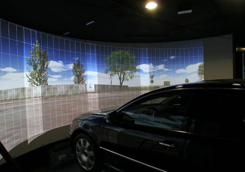 VW Phaeton Driving Simulator At Transparent Factory Dresden (Event Area)