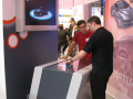 BASF Virtual Car Multitouch Information System At Trade Show