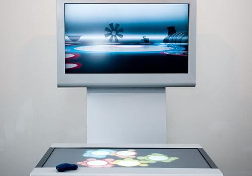 Multitouch System Virtual Car, BASF AG