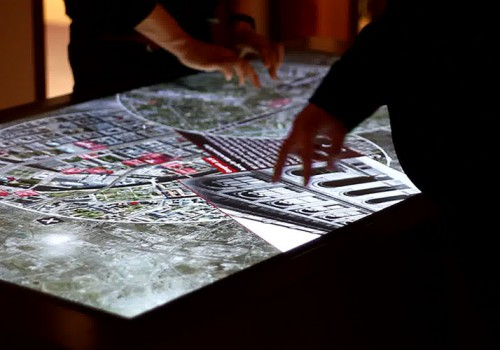 Multitouch-Table For Humboldt University, Berlin