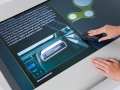 BASF Virtual Car Multitouch Information System - Content Screen