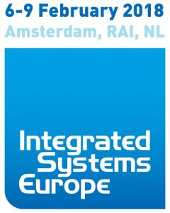 Besuchen Sie uns auf der nächsen ISE Integrated Systems Europe in Amsterdam, 06.-09.02.2018, Stand H2-A60.