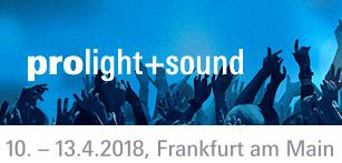 Erleben Sie domeprojection.com ProjectionTools und SYNtouch RADAR an unserem Stand auf der Prolight + Sound, 10.-13. April 2018 in Frankfurt/Main.