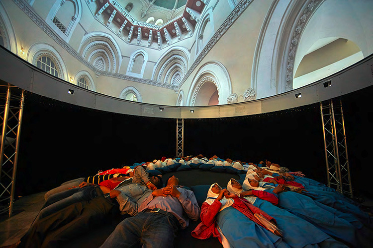 Domelab Immersive 3d Stereo Fulldome Projection Project