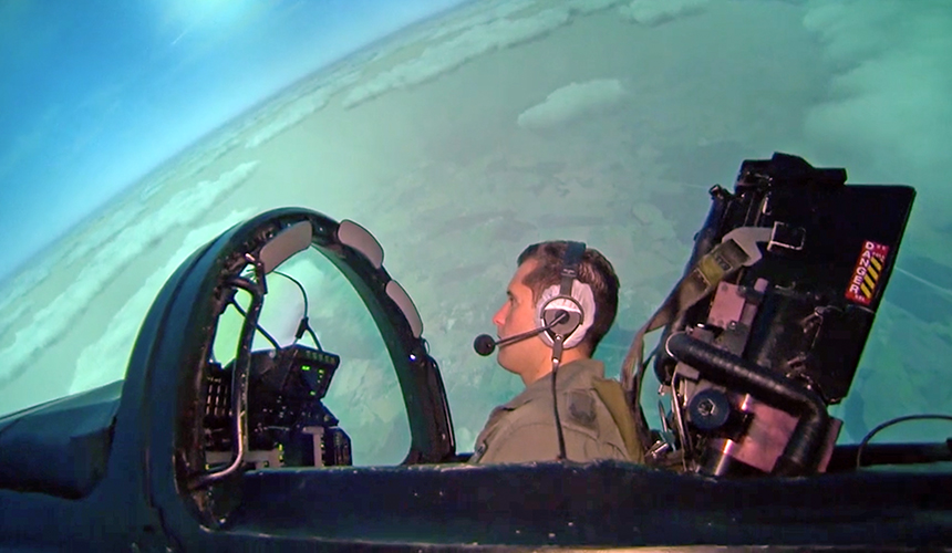 Projection Systems for EUROFIGHTER Full Mission Simulators