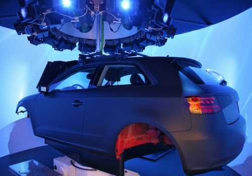 Toronto Rehabilitation Institute, IDAPT Centre For Rehabilitation Research, CEAL DriverLab Simulator Ft. Audi A3 Body