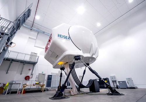 Airbus H145 Level D Full Flight Helikoptersimulator Für NCCH