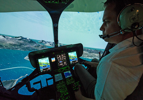 H145 FFS Für Das Norwegische Kompetenzzentrum Helikopter (NCCH) (mit Fr. Genehmigung Von Reiser S&T)