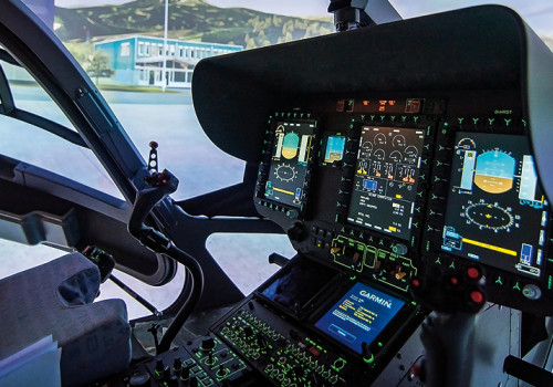 H145 FFS ADAC HEMS Cockpit (courtesy Of Reiser Simulation And Training GmbH)
