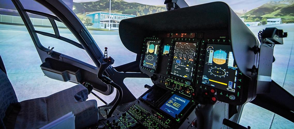 Level D FFS Für ADAC HEMS H145 Helikopter