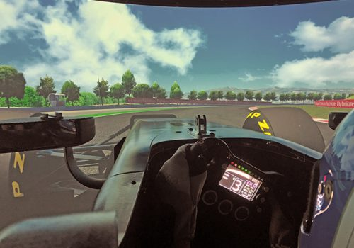 DALLARA High-performance Driving Simulator