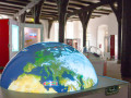 "Multitouchglobe For Travelling Exhibition INNOspaceExpo ""ALL.täglich!"" (courtesy Of CD Werbeagentur)"