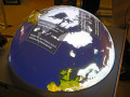 "Multitouchglobe For Travelling Exhibition INNOspaceExpo ""ALL.täglich!"""