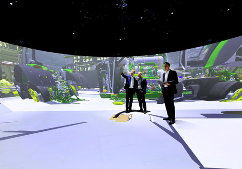 Fraunhofer IFF Magdeburg, Elbe Dome 2.0 360° Mixed Reality Lab