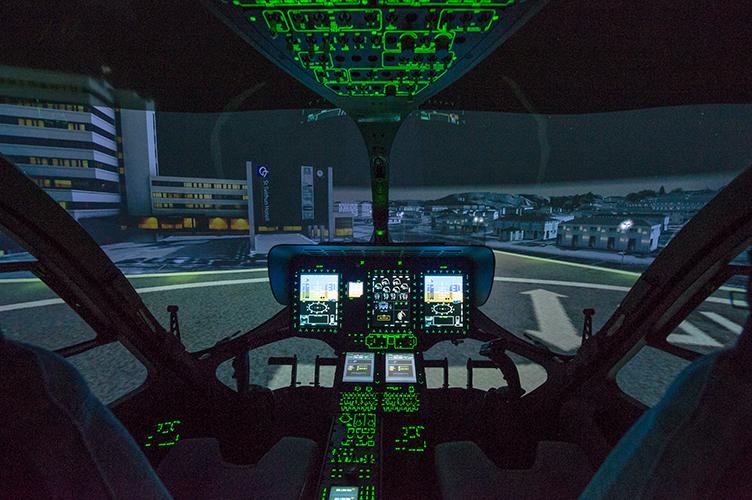 Level D certified Full Flight Simulator for Airbus H145