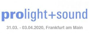 Erleben Sie domeprojection.com ProjectionTools und SYNtouch RADAR an unserem Stand auf der Prolight + Sound, 31.03.-03.04.2020 in Frankfurt/Main.