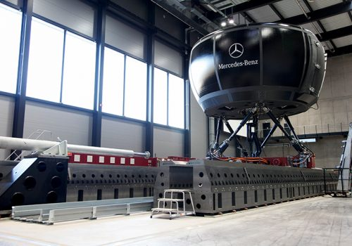 Daimler MBS Handling Simulator (courtesy Of Daimler AG)